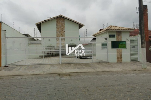 Imagem 1 de 7 de Sobrado Em Condomínio Com 01 Suíte Em Itanhaém - Ca385-f