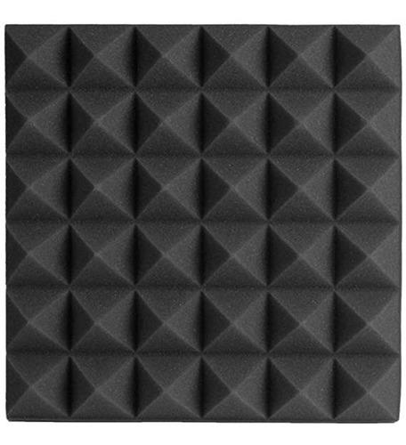 Imagen 1 de 3 de Panel Acustico Piramidal 50x50cm Aislante Para Estudio