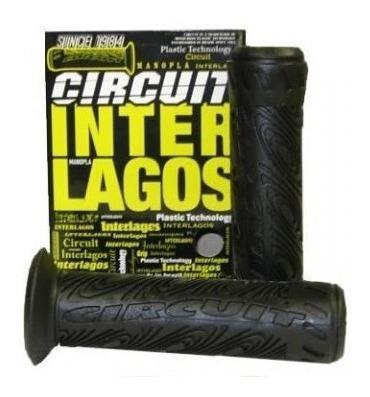 Manopla Circuit Interlagos Plus - Par Preta