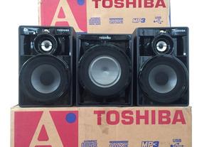 Conjunto Caixas De Som Original Toshiba Ss8080 - 4 Ohms