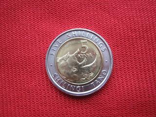 Kenia 5 Shillingi 2018 Bimetalica