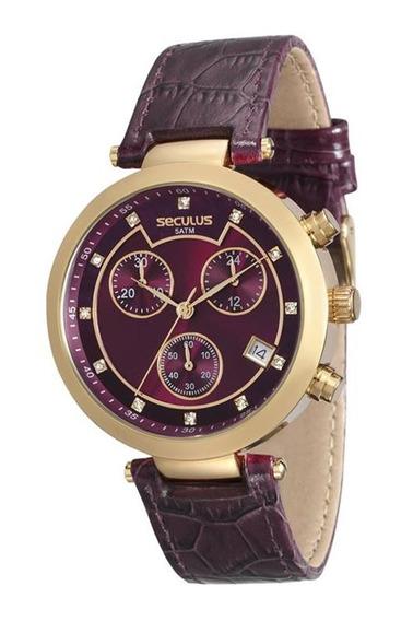 Relógio Seculus Feminino 20450lpsvdr3