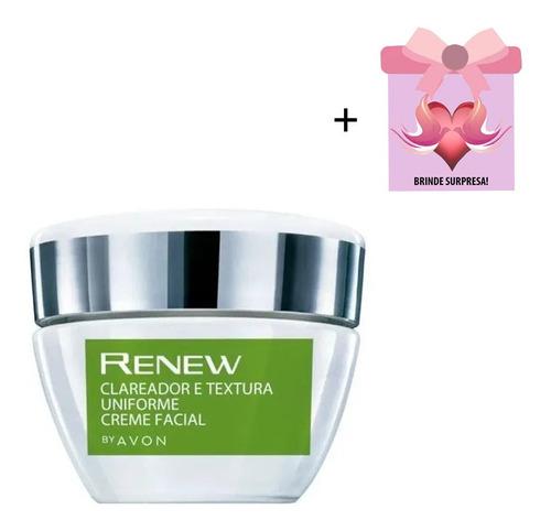 Creme Facial Avon  Renew Clareador Textura Uniforme + Brinde