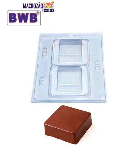 Forma Silicone Pão De Mel Quadrado Bwb Confeitaria