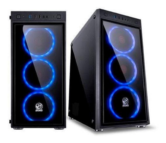 Pc Gamer Rgb Amd Octa-core + 8gb + Gtx 1650 4gb + Ssd E Wifi