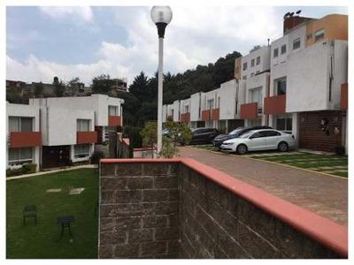 Se Vende Casa Contemporánea En Condominio Horizontal En Manzanastitla, Cuajimalpa