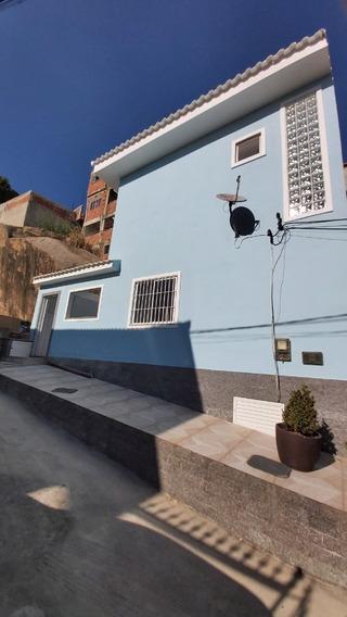 Casa Duplex 2 Qtos C/ Peq Quintal - Campinho - Cód Cdq 326