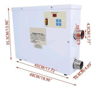 Caldera Electrica Para Albecas 40,000 Litros 15kw 220v