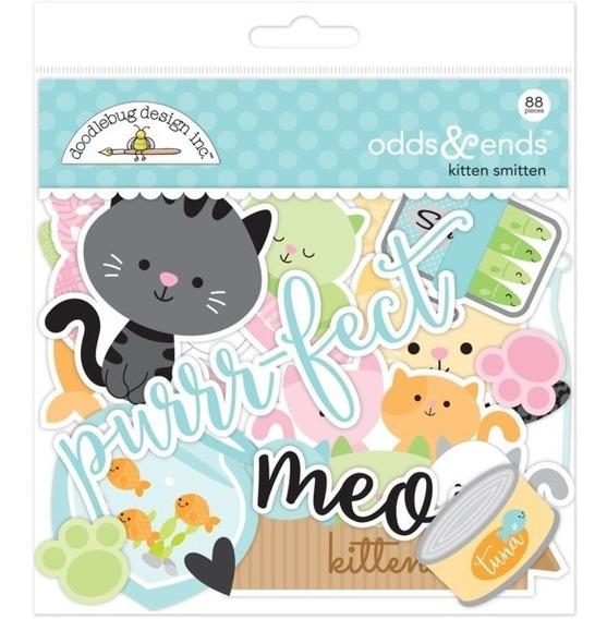 Figuras Doodlebug Db Scrapbook Odds & Ends Kitten Smitten
