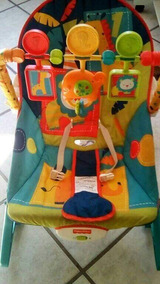 Silla Mecedora De Bebe Fisher Price. Con Musica Y Vibracion
