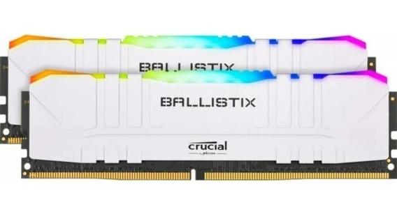 Memoria Ram Crucial Ballistix 3200mhz Ddr4 16gb 2x8gb Rgb