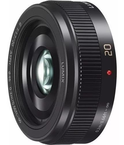 Lente Panasonic Lumix 20mm 1.7 .para Câmeras M4/3 Impecável
