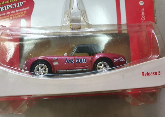 2007 Johnny Lightning 1/64 Coca Cola 1966 Shelby 427 Cobra