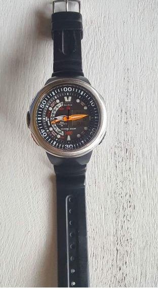 Relógio Citizen Aqualand Eco-drive 200m Jv0000-01e