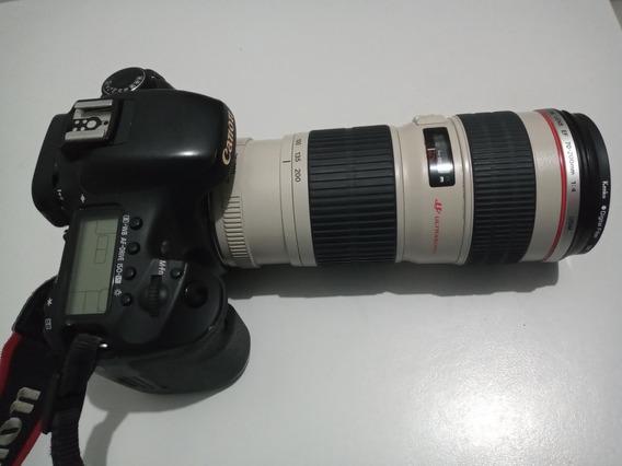 Camera Canon Eos 7d Com Lente 70x200 F1.4 L