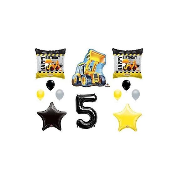5º Construccion De Cumpleaños Globos Suministros De Decoraci