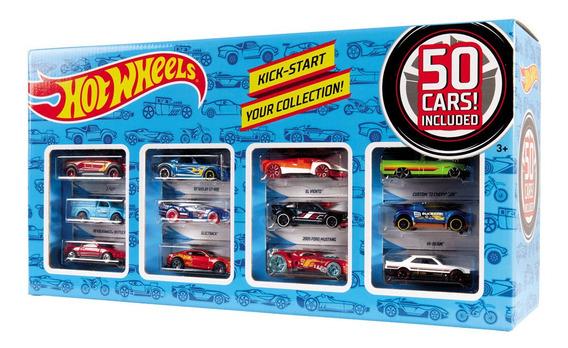 Conjunto De Veículos - Hot Wheels - 50 Carros - Mattel