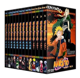 Dvds Naruto Classico + Shippuden Completos + Filmes