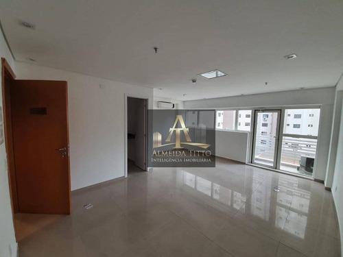 Excelente Sala Comercial Á Venda No Office Grajaú - Confira! - Sa0564