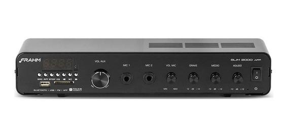 Amplificador Receiver Som Ambiente Frahm Slim 2000 Ap Ap0376