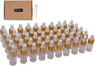 Pinklife 50 Pakcs Botellas Cuentagotas De Aceite Esencial 3m