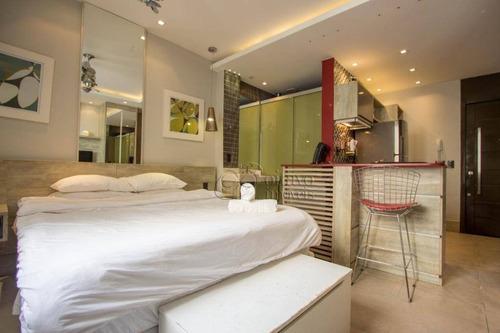 Kitnet Com 1 Dormitório À Venda, 30 M² Por R$ 850.000,00 - Ipanema - Rio De Janeiro/rj - Kn0445