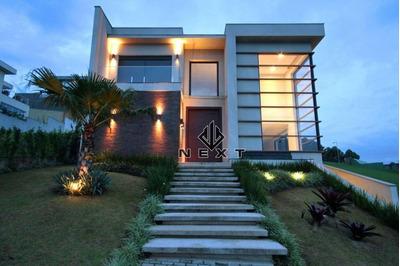 Casa Com 4 Suítes À Venda, 465 M² No Residencial Tamboré 10 - Alphaville - Sp - Ca0030