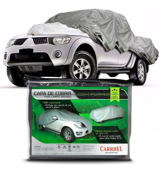 Capa Cobrir Camionete 100% Impermeavel L200 Triton Outdoor