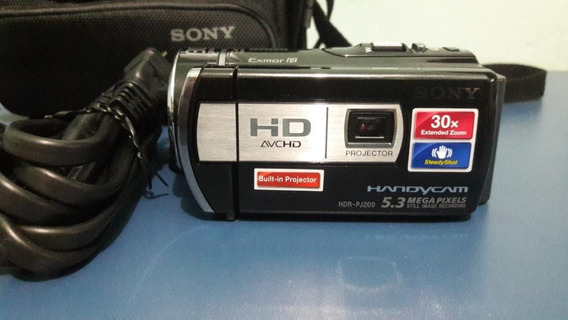 Filmadora Sony Hdr-pj200 Full Hd + Projetor Integrado