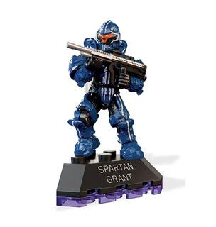 Mini Figura Spartan Grant 5 Cm Halo