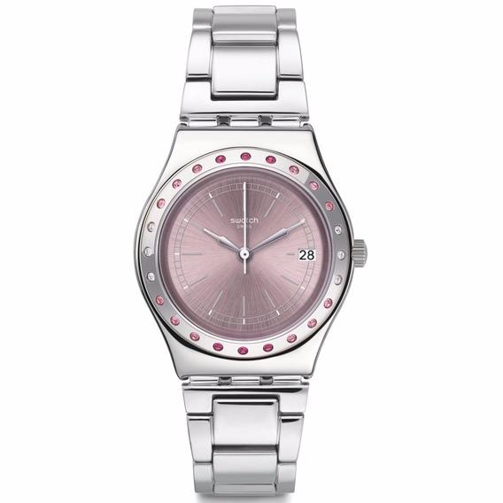 Reloj Swatch Pinkaround Yls455g Mujer Envio Gratis