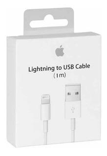 Cable Usb 100% Original iPhone 5 6 7 8 10 X iPad Cargador