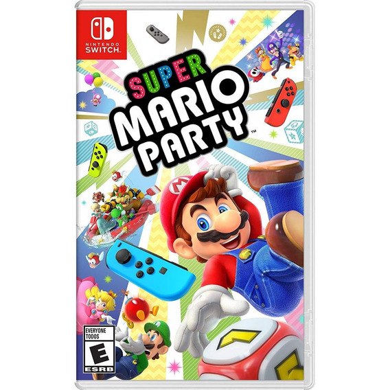 Jogo Midia Fisica Super Mario Party Pra Nintendo Switch