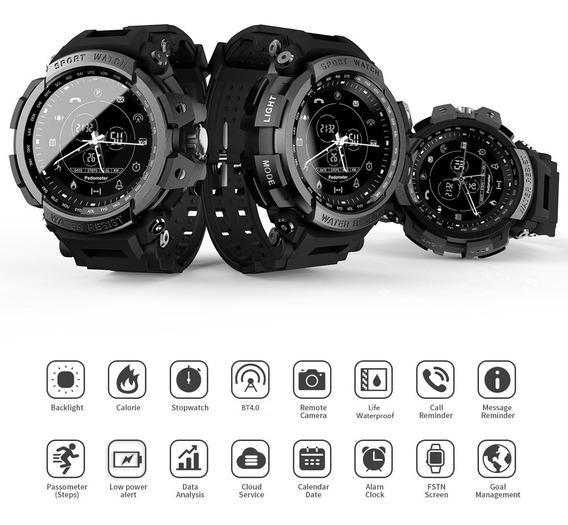 Relógio Smartwatch Bluetooth Camera Lokmat Mk28 Relógio In