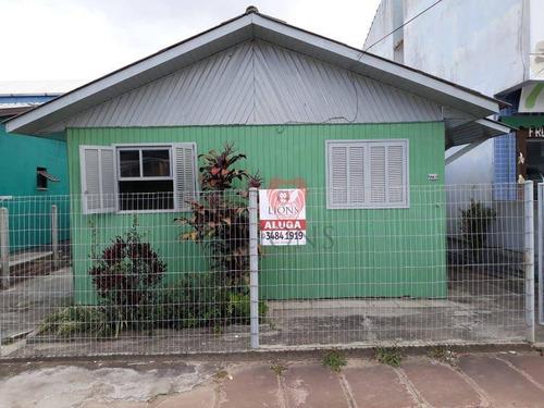 Imagem 1 de 13 de Casa Com 2 Dormitórios Para Alugar, 42 M² Por R$ 800,00/mês - Centro - Gravataí/rs - Ca1364