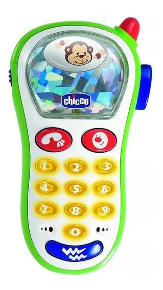 Telefone Celular Musical Para Bebê Vibra Capta Com Luzes
