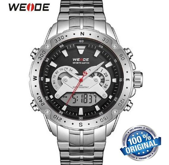 Relógio Weide 8501 Digital E Analógico Casaul Esporte