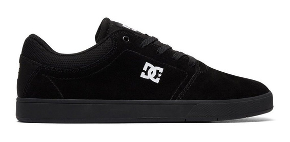 Tenis Hombre Crisis Tx Adys100029 Xkkw Dc Shoes Negro Gamuza