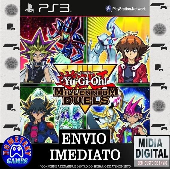 Yu-gi-oh! Millennium Duels - Psn Ps3 Play 3