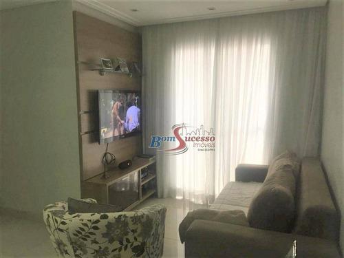 Imagem 1 de 30 de Apartamento Com 2 Dormitórios À Venda, 48 M² Por R$ 250.000,00 - Jardim Vila Formosa - São Paulo/sp - Ap2275