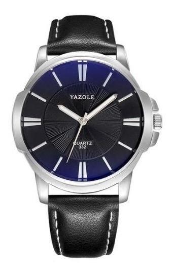 Relógio De Quartz Yazole 332 Promoção Pré Black Friday
