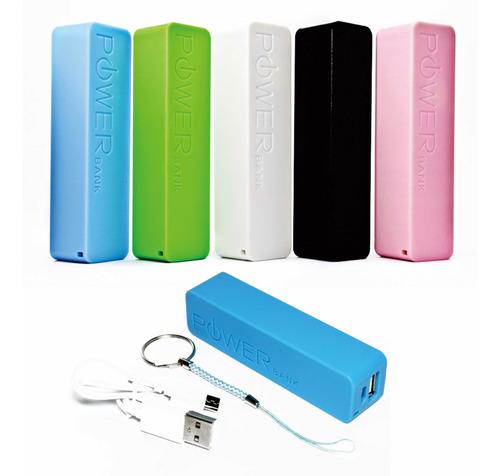 Cargador Portatiles Power Bank 2600mah Mini Usb 2.0