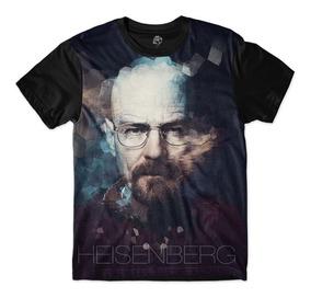 Camisa Camiseta Bsc Walter White Breaking Bad Blusa Full