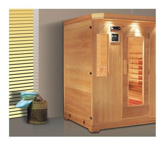 Sauna Residencial 2 Pessoas Infravermelho Sc-6242