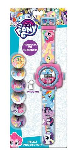 Imagen 1 de 1 de Reloj Digital Pony Proyector Unicornio Pulsera Regalo Juego