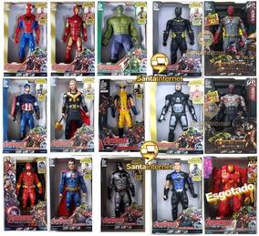 Boneco Vingadores Marvel 30 Cm Luz E Som Barato Unitário