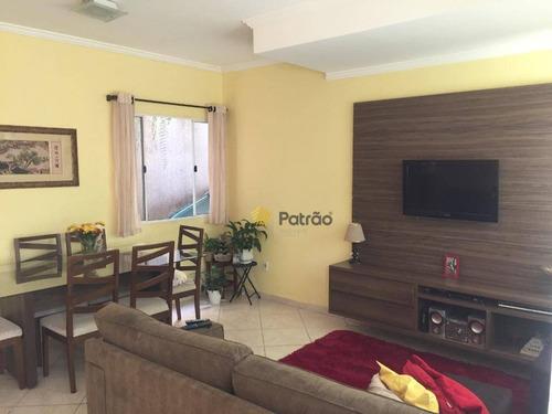 Imagem 1 de 22 de Sobrado Com 3 Dormitórios À Venda, 115 M² Por R$ 620.000,00 - Baeta Neves - São Bernardo Do Campo/sp - So0869