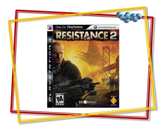 Jogo Resistance 2 Mídia Física Ps3 - Novo E Lacrado