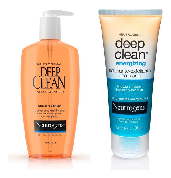 Neutrogena Limpiador Deep Clean + Exfoliante Deep Clean