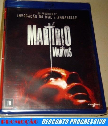 Blu-ray Martírio (lacrado)